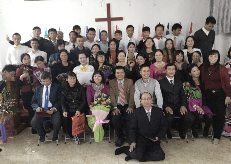 Lễ Tốt Nghiệp Khoá Học Kinh Thánh Năm Nhất Tại Quảng Ninh