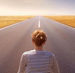road-horizon-woman-faith-sky-wide