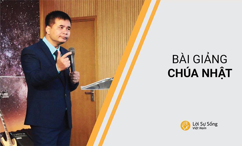 Đức Chúa Trời Là Đấng Nắm Giữ Tương Lai | Mục Sư Phạm Tuấn Nhượng | BGCN 05/11/2017