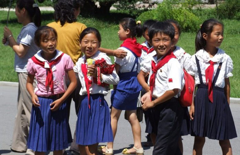 Trợ Giúp Trẻ Em Tại Triều Tiên
